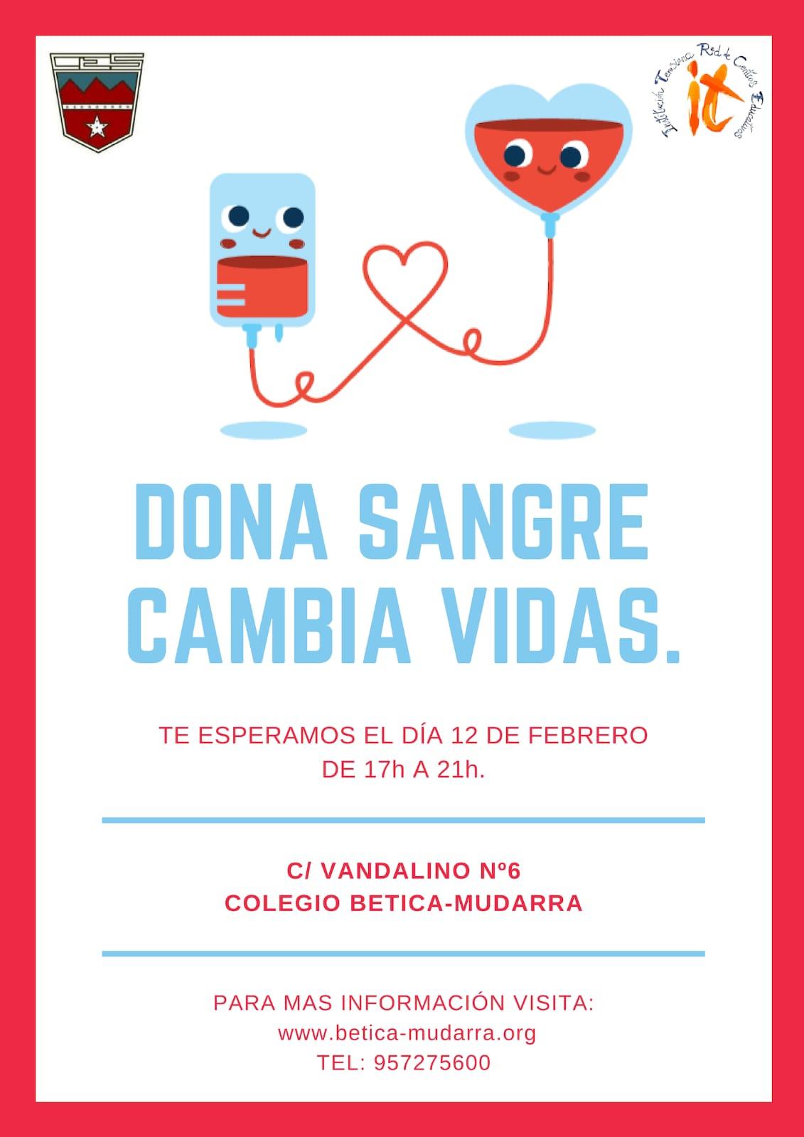 cartel donación sangre