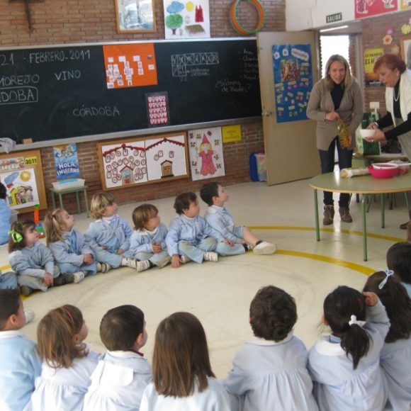"Semana de Andalucía: ""Taller de cocina""(1º de Ed Infantil)"