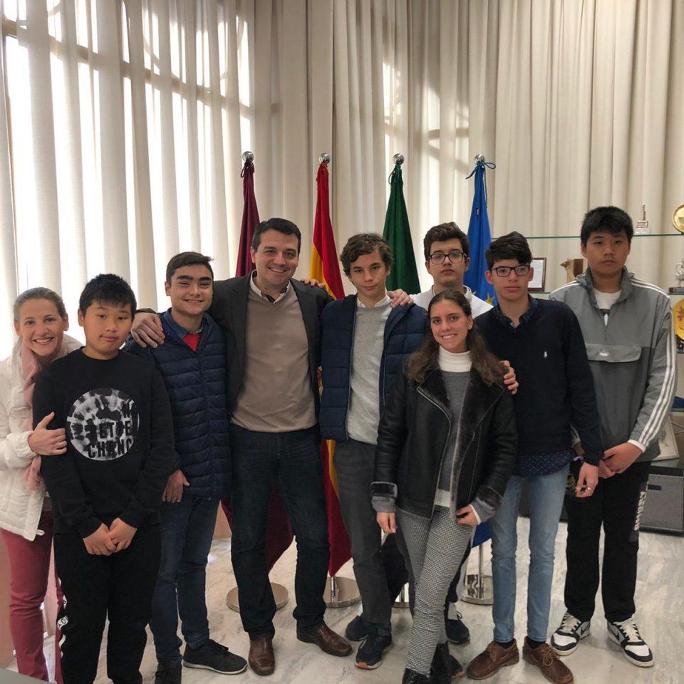 Visita al Ayuntamiento de Córdoba