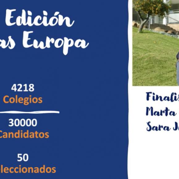 Becas Europa. Abril 2020