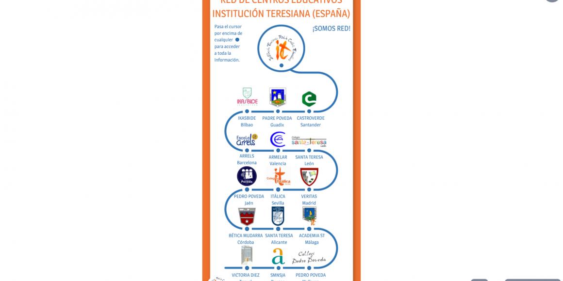 Los 15 centros de la Institución Teresiana