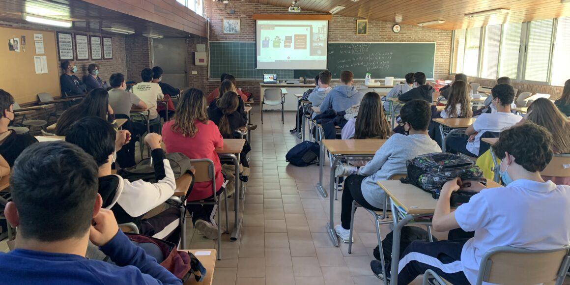 Clausura de las Jornadas de Orientación Vocacional-Profesional de Bachillerato