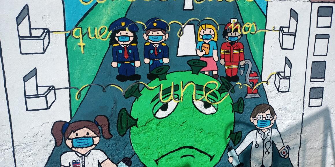 4º ESO se despide con un mural